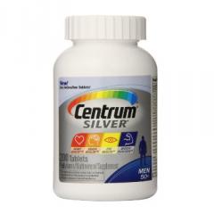 Centrum Silver Men 50+ – viên uống bổ sung vitamin và khoáng chất, chăm sóc sức khỏe nam giới, 200 viên