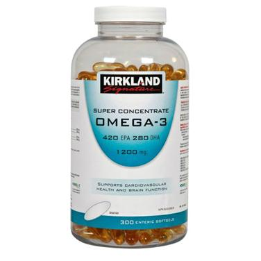 Kirkland signature super concentrate omega3