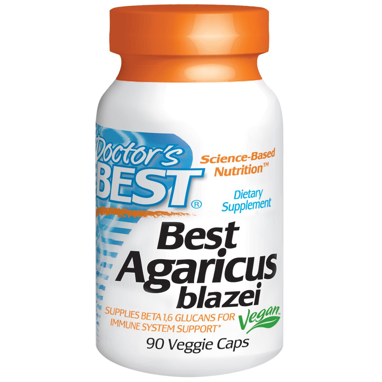 Doctor's Best Agaricus Blazei - Tăng Sức Đề Kháng, Tăng Cường Hệ Miễn Dịch.