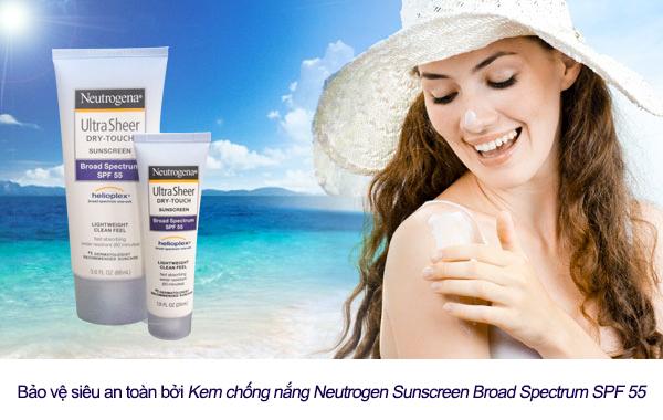 Kem chống nắng neutrogena có tốt không, giá bao nhiêu, mua ở đâu?