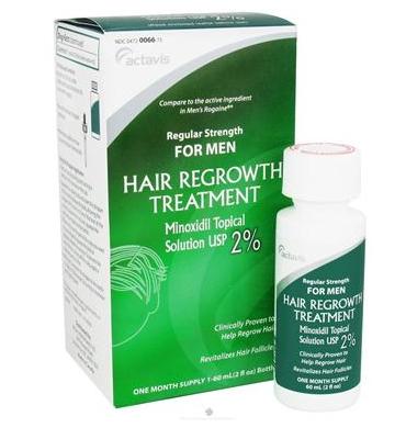 Actavis Hair Regrowth Treatment - mọc tóc, trị hói đầu ở nam giới 60ml