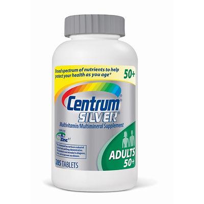 Centrum Silver Multivitamin & Multimineral adults 50+ cung cấp vitamin và khoáng chất cho người trên 50 tuổi