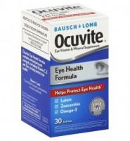 Viên uống cung cấp dưỡng chất bảo vệ mắt: Bausch + Lomb Ocuvite Help Protect Eye Health Formula, 30 viên
