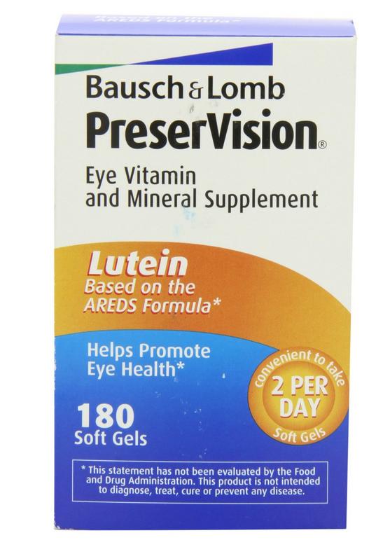 Bausch Lomb PreserVision là sản phẩm bổ sung chất chống oxy hóa giúp mắt sáng, khỏe