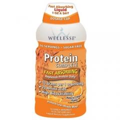 Wellesse Protein Complete - Nước uống bổ sung dưỡng chất giúp cơ thể khỏe mạnh, kích thích sự thèm ăn, tăng cường miễn dịch, 480ml