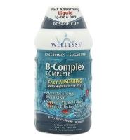 Wellesse B Complex with high B12 - Nước uống thúc đẩy trao đổi năng lượng, giảm stress,480ml