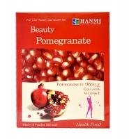 Beauty Pomegranate - Nước uống chiết xuất từ lượu giúp ngăn ngừa lão hóa da, 80 ml