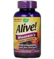 Natures Way Alive! Womens Energy Gummy Multi- Vitamins - Viên uống cung cấp Vitamin và khoáng chất cho nữ giới, 75 viên