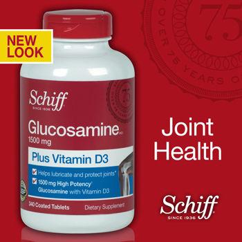 Schiff Glucosamine Plus MSM 1500mg điều trị đau nhức xương khớp