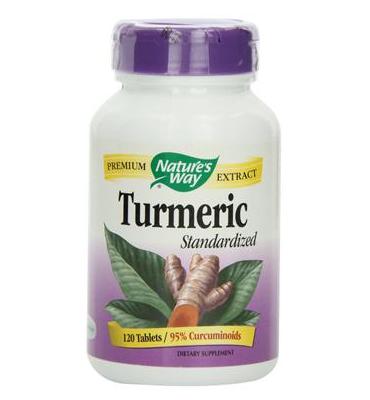 Viên uống kháng viêm, tăng cường hệ miễn dịch Nature's Way Turmeric , 120 viên