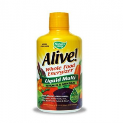 Nature's Way Alive Liquid Vitamin - Nước uống cung cấp Vitamin và khoáng chất, 900 ml