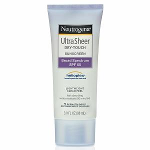 Neutrogena Ultra Sheer® Dry-Touch Sunscreen Broad Spectrum SPF 55 - Kem chống nắng không chứa thành phần PABA, 88ml
