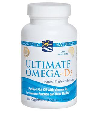 Tác dụng nổi bật của nordic natural ultimate omega-d3