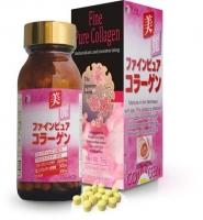 Fine Pure Collagen - Viên uống bổ sung collagen hiệu quả, bộ gồm 2 sản phẩm