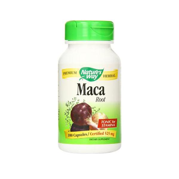 Nature's Way Maca Root - Viên uống tăng cường sinh lực nam giới , 100 viên