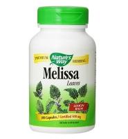 Nature's Way Melissa  Leaves Lemon Balm – Viên uống trị chứng lo âu, giảm stress, tăng cường trí nhớ, 100 viên