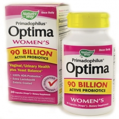 Nature's Way Primadophilus Optima Womens – Viên uống bổ sung lợi khuẩn, tăng cường sức khỏe hệ tiêu hóa dành cho phụ nữ, 30 viên.