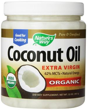 Nature's way organic coconut oil way extra virgin – bột dầu dừa giúp bổ sung dinh dưỡng cho cơ thể, 907g