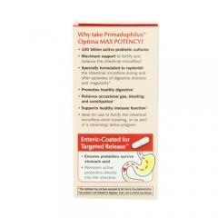 Nature's Way Primadophilus Optima Max Potency – Viên bổ sung lợi khuẩn cho đường tiêu hóa, 30 viên.