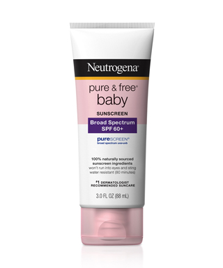 Kem chống nắng cho trẻ em - neutrogena pure & free® baby sunscreen lotion broad spectrum spf 60+, 88ml