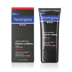 Kem chống nắng, dưỡng da cho nam Neutrogena Men® Triple Protect Face Lotion with sunscreen SPF 20, 50ml