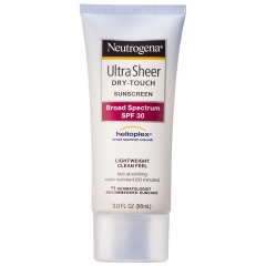 Kem chống nắng - Neutrogena Ultra Sheer® Dry Touch Sunscreen Broad Spectrum SPF 30, 88ml