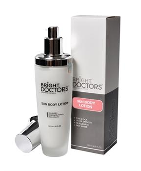 Brigth doctor sun body lotion