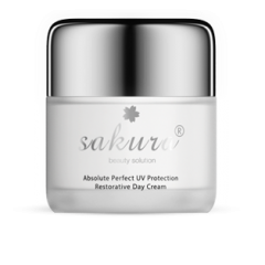 Kem dưỡng trắng da ban ngày - Sakura Absolute Perfect UV Protection Restorative Day Cream, 30g