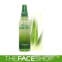 Chai xịt khoáng Aloe Fresh Soothing Mist The Face Shop