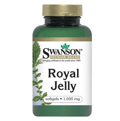 Sữa ong chúa swanson royal jelly 1000mg nâng cao sức đề kháng, 100 viên
