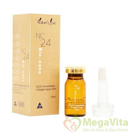 Công dụng tinh chất collagen 100 nature care nc24 bio-mano
