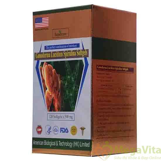 viên nang mềm tảo xoắn linh chi được chứng nhận an toàn chất lượng của bộ y tế