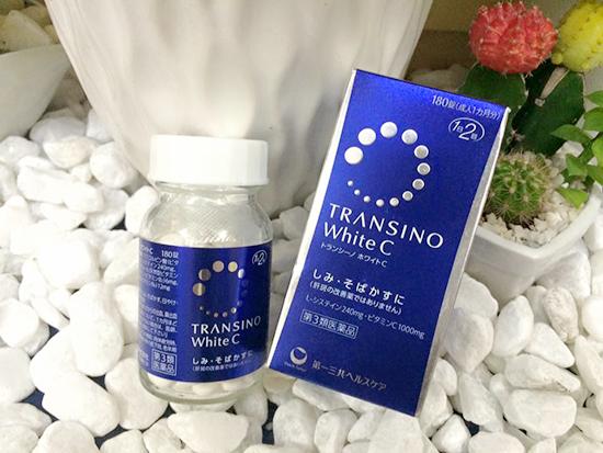 Transino-white-c-vien-uong-tri-nam-180-vien