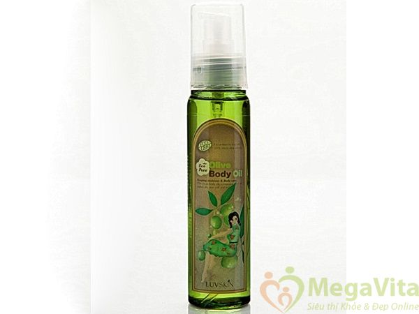 Tinh chất dưỡng thể olive tinh khiết luvskin eco pure olive body essance 90ml