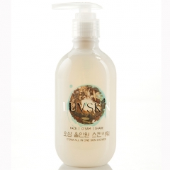 Sữa rửa mặt nhân sâm Luvskin O'Sam All In One Skin Shower 250ml