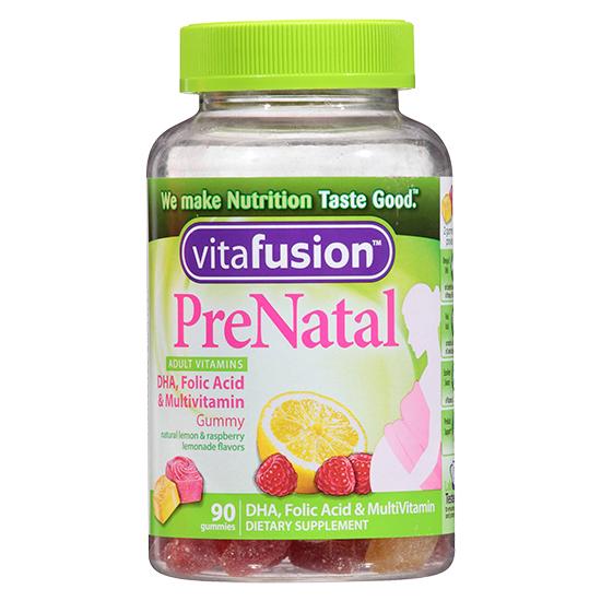 Kẹo dẻo Gummy Vitafusion PreNatal: món ăn vặt phổ biến của các bà bầu