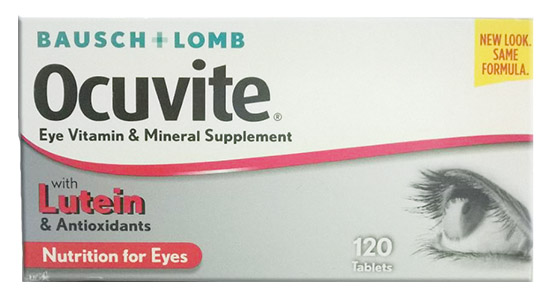 Ocuvite Nutrition for Eyes, Tablets 120