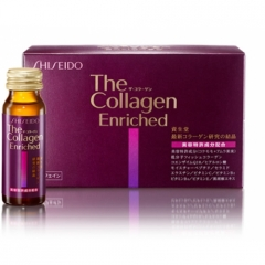 Collagen Enriched Shiseido - Nước uống bổ sung Collagen 50 mg (10 lọ)