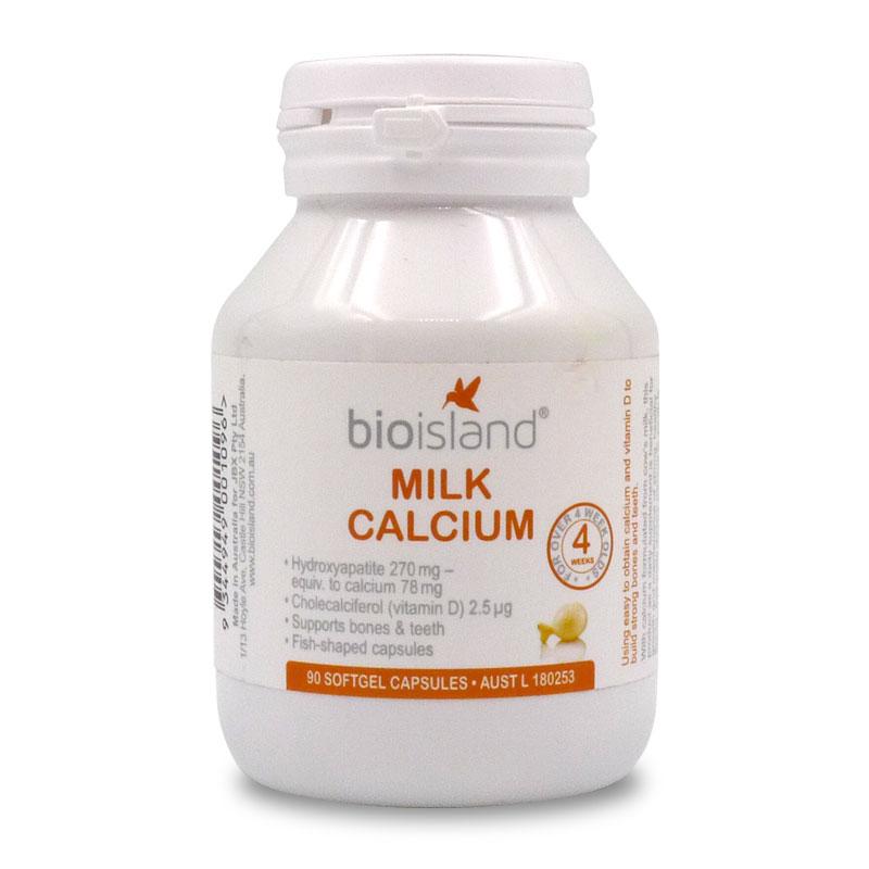 Công dụng của viên sữa calcium milk bio island