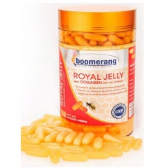 Sữa Ong Chúa Boomerang Royal Jelly and Collagen, 360 Viên