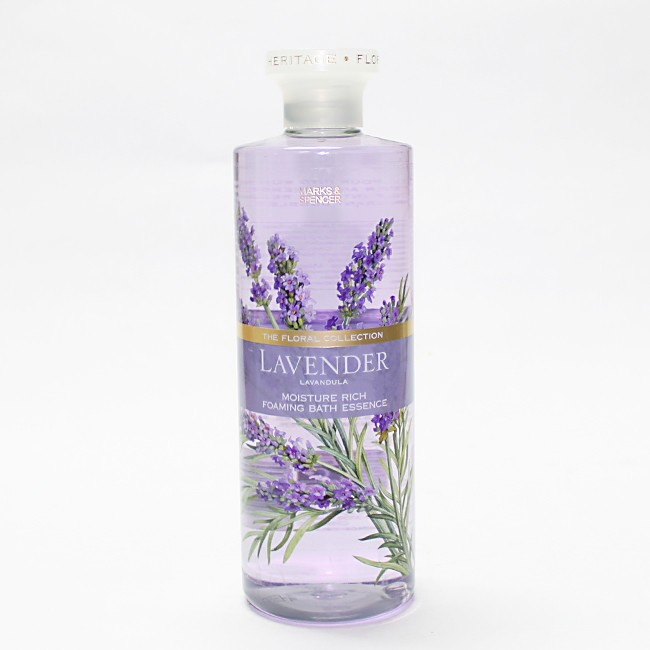 Sữa tắm làm ẩm da Marks & Spencer The Floral Collection Lavender của Anh