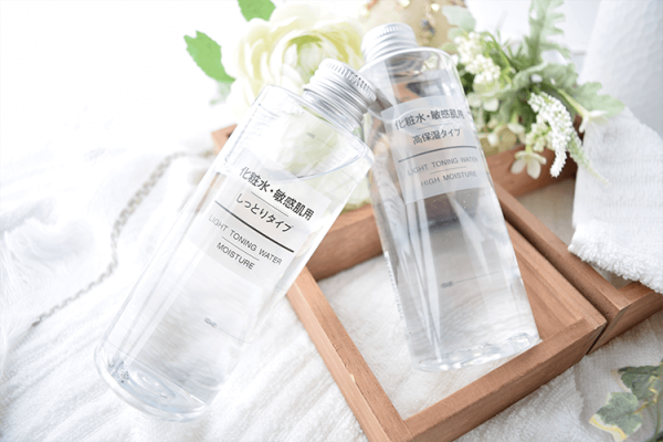 Muji light toning water high moisture
