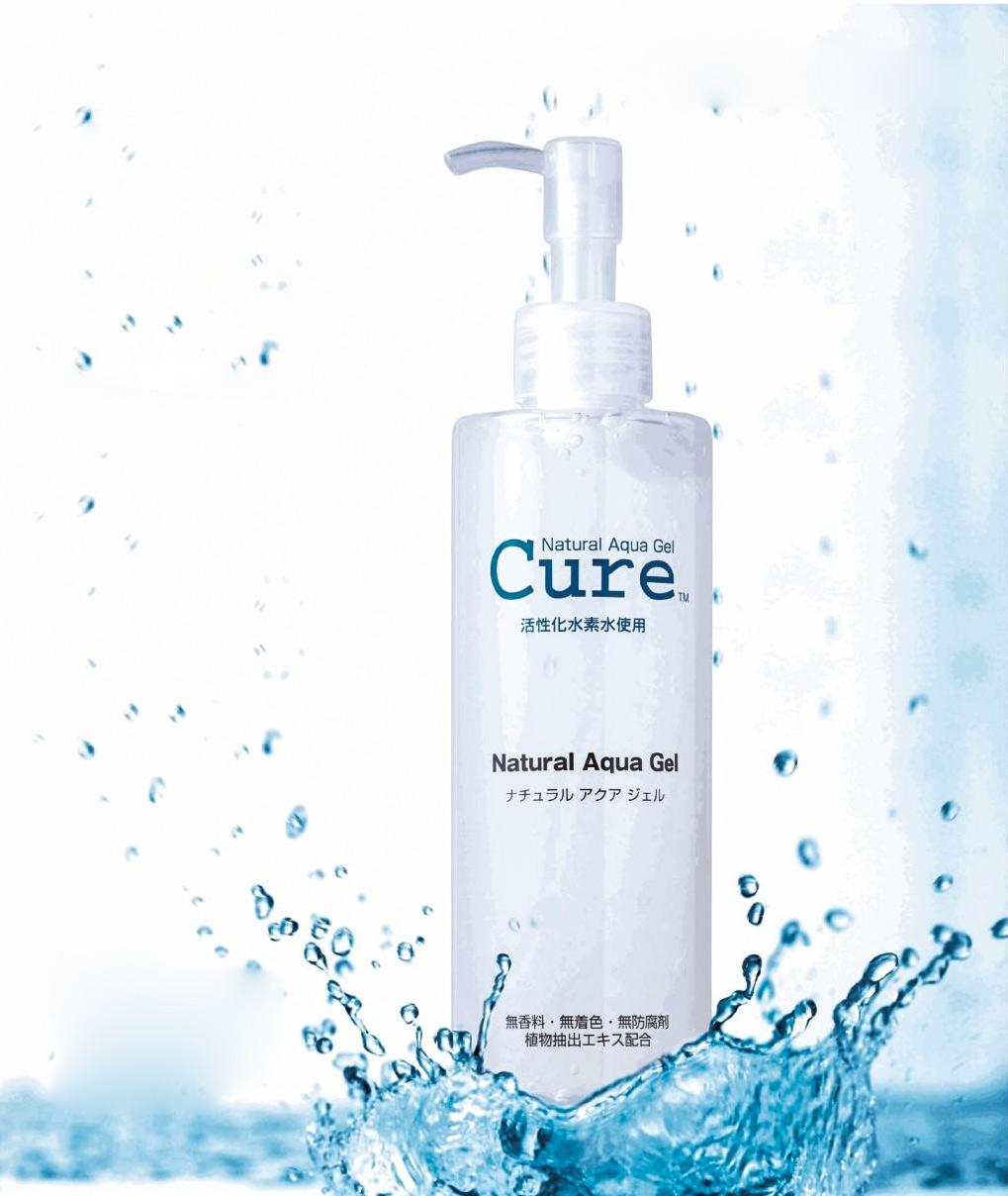 Cure natural aqua 250g: gel tẩy tế bào chết và ngăn ngừa mụn
