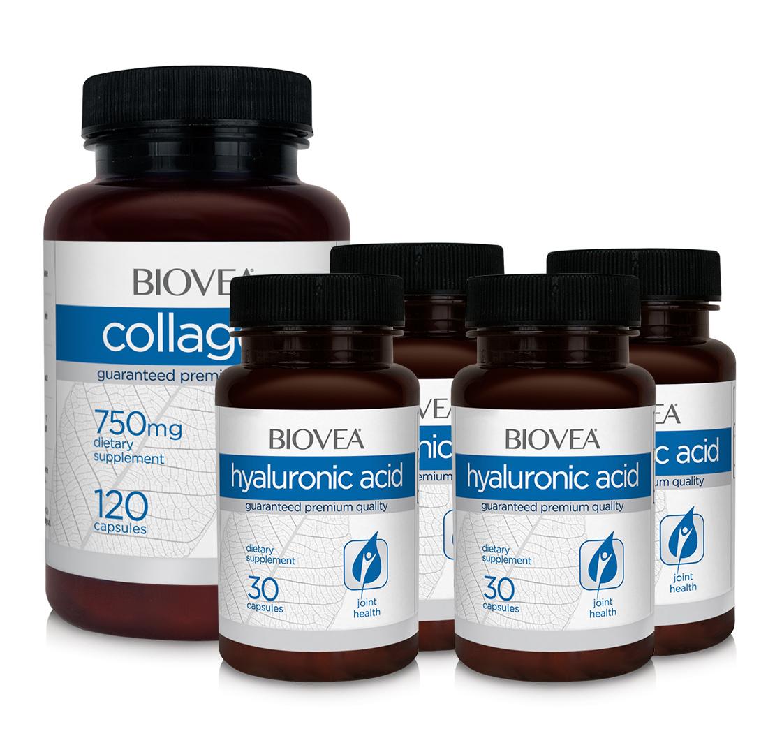 Collagen biovea 750mg 120 viên viên uống làm đẹp da bổ xương khớp
