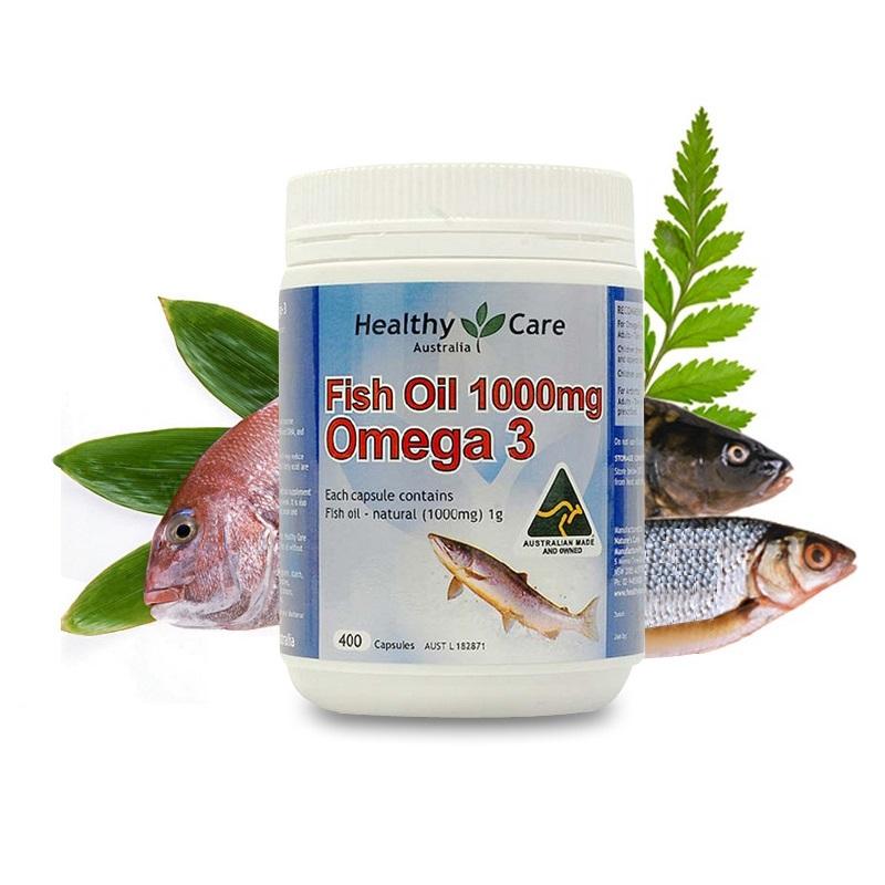 Dầu cá tự nhiên fish oil healthy care omega-3