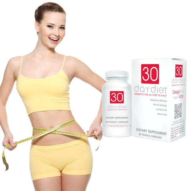 Viên uống giảm cân chiết xuất thảo dược 30 day diet