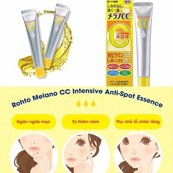 Serum Vitamin C Melano CC Rohto Tinh Chất Đặc Trị Nám Mụn Cc Melano - 300000