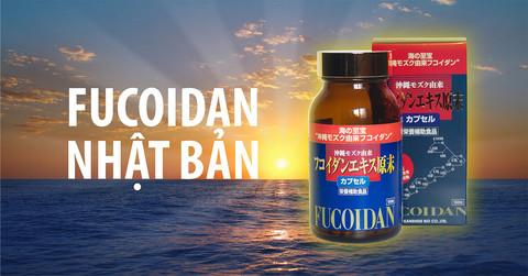 Công dụng của viên uống hỗ trợ điều trị ung thư okinawa fucoidan kanehide bio 150 viên