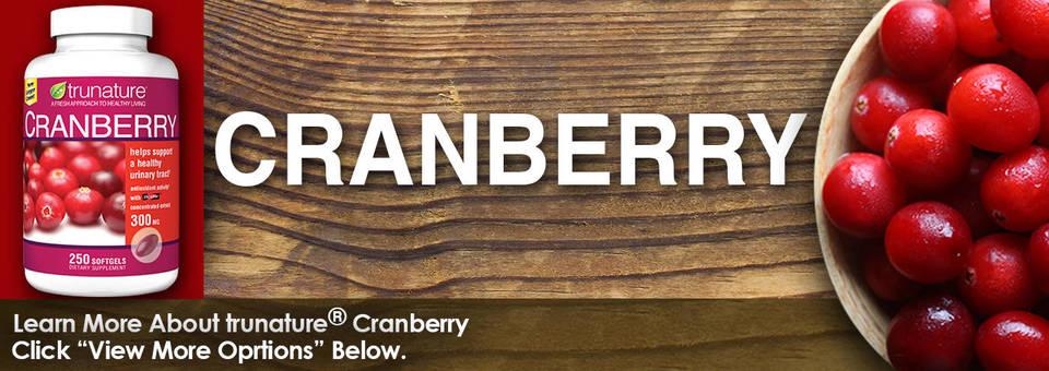 Trunature cranberry 300 mg viên uống hỗ trợ đường tiết niệu