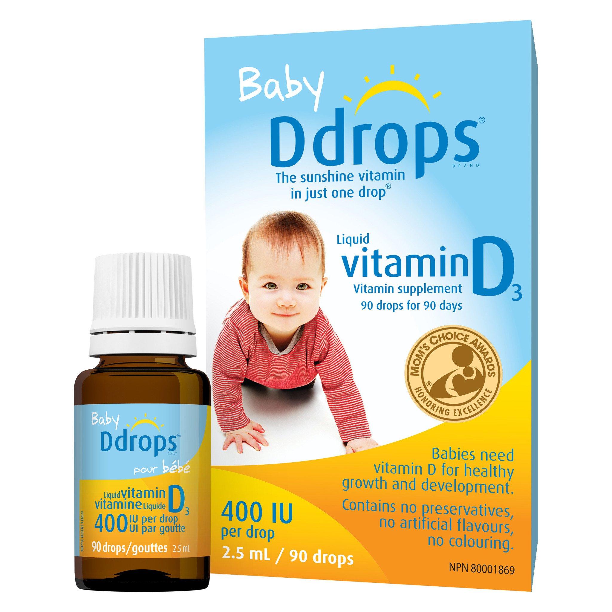 Công dụng chính của baby drops vitamin d3